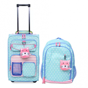 Crckt Kids 2-Pc. Printed Carry-On Suitcase & Backpack Set @ Macy's