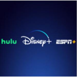 Disney+, Hulu, and ESPN+ for $12.99/mo