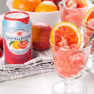 Sanpellegrino Prickly Pear and Orange Sparkling Fruit Beverage, 11.15 Fl. Oz Cans @ Amazon.com