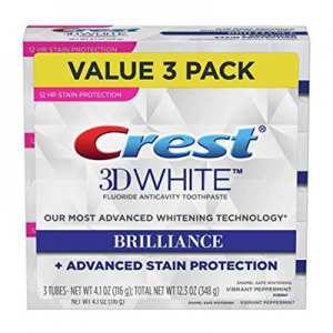 Crest Toothpaste 3D White Brilliance Vibrant Pack of 3 @ Amazon.com