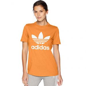 adidas Originals Women's Trefoil Tee,Real Gold,XX-Small @Amazon