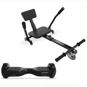 Hover-1 All-Star Hoverboard & Go-Kart Attachment Combo, Black @ Walmart