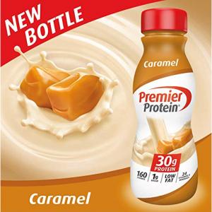 Premier Protein 高蛋白营养奶昔 焦糖口味 12瓶装