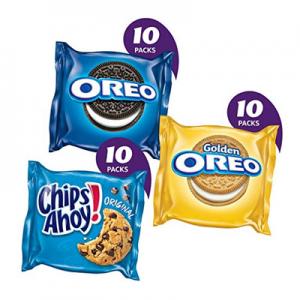 Nabisco 曲奇餅幹 派對分享裝 奧利奧+趣多多 30包裝