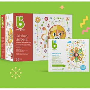 Prime Exclusive Deal:Babyganics Baby Diapers Sale @ Amazon