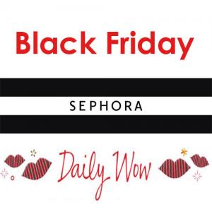 12月1日更新!Sephora丝芙兰黑五每日惊喜折扣开启!