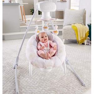 Fisher-Price 天鹅款2合1婴儿电动摇篮 @ Amazon