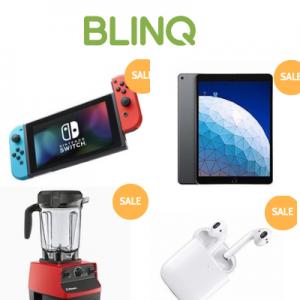 BLINQ 黑五&网购星期一大促,Nintendo Switch, Xbox One, iPad 等超低价