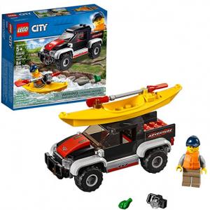 LEGO City 城市係列 劃艇探險 60240 (84 顆) @ Amazon