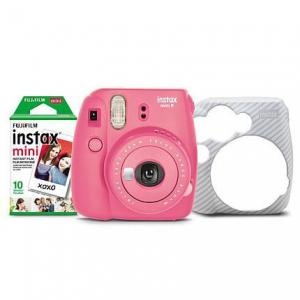FujiFilm Instax Mini 9 Bundle with 10 Film & Case @ HSN