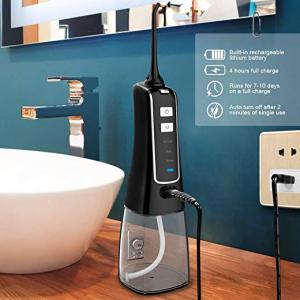 Nicefeel 300ML USB Rechargable Portable Oral Irrigator @ Amazon.com