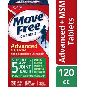 Amazon.com - Move Free 绿瓶基础款维骨力120粒 ,现价$13.09(原价$17.99)