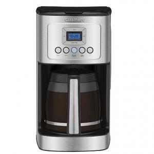 Cuisinart DCC-3200 玻璃水瓶手柄可編程咖啡機,14杯不鏽鋼 @ Amazon