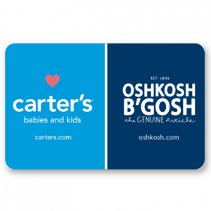 $25 Carter's OshKosh B'gosh Gift Card For $20 @ PayPal