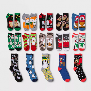 【Target】倒數日曆15雙襪子禮盒套裝熱賣