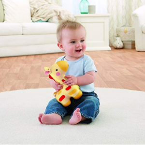Fisher-Price 长颈鹿款宝宝安抚玩具 @ Amazon