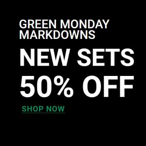 Green Monday Markdowns @ Sigma Beauty