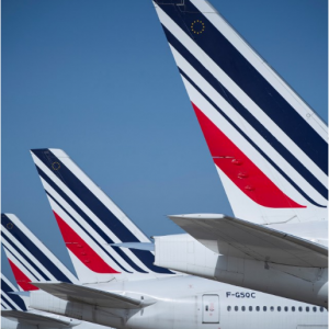 New York to Paris Round Trip sale @Air France
