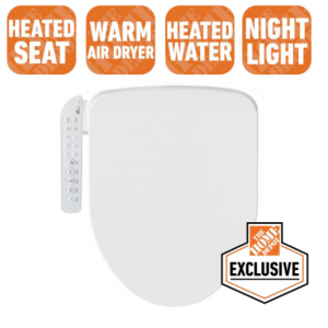 bioBidet Electric Bidet Seat with Fusion Heating Technology  @HomeDepot