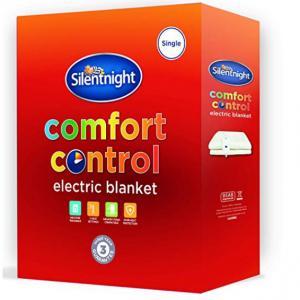 Silentnight comfort control electric blanket kingsize for £22.99 @Amazon UK