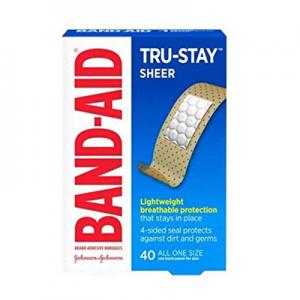 Band-Aid 邦迪透氣創可貼 40片 新包裝