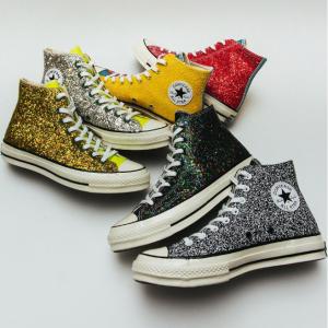 Converse X JW Anderson Glitter Shoes Sale @ Converse