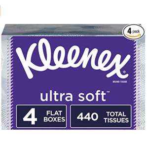 Kleenex 特柔面巾纸110抽4盒,共440抽 @ Amazon