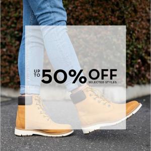 【Timberland AU】年末大促,精選鞋服特惠