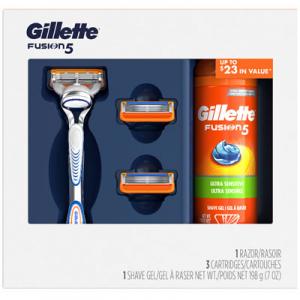 Gillette Fusion5 系列剃须刀节日礼盒
