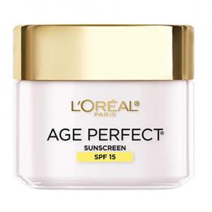L'Oreal Paris Skincare Age Perfect Day Cream With SPF15 2.5oz @ Amazon