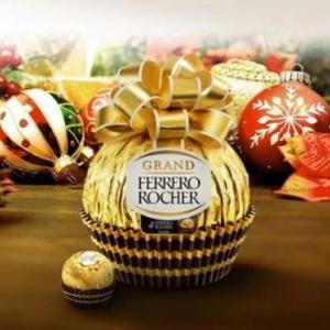 Ferrero Rocher 經典榛子巧克力球禮盒促銷