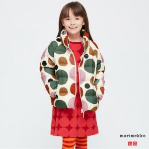 【Uniqlo】MARIMEKKO合作款兒童麵包服 3色選