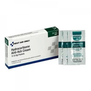Pac-Kit by First Aid Only 18-012 Hydrocortisone Anti-Itch Cream Packet (Box of 12) @ Amazon.com