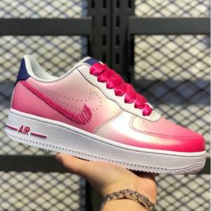 Nike Air Force 1 '07 Women's Shoe,White/Pink