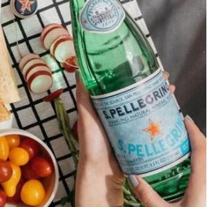 S.Pellegrino Sparkling Natural Mineral Water, 16.9 fl oz. Plastic Bottles (12 Count) @ Walmart