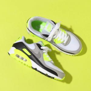 新品預告! Nike Air Max 90 女款運動鞋 熒光綠