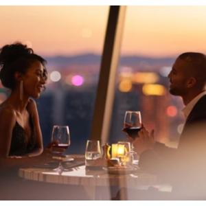 拉斯维加斯 云霄塔酒店旋转餐厅晚餐 俯瞰拉斯全景 @ Groupon