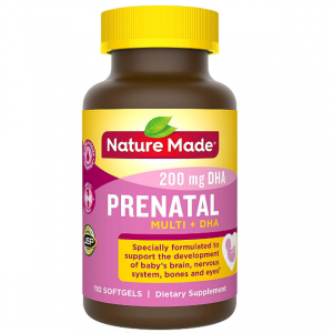 Nature Made 孕婦複合維生素 + DHA,110粒 @ Amazon