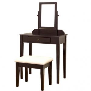 Frenchi Furniture Wood 3 Pc Vanity Set @ Amazon