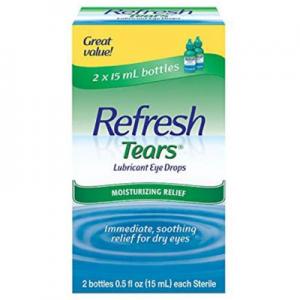 Refresh Tears Lubricant Eye Drops, 2 Count @ Amazon.com