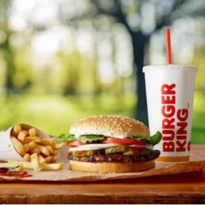 Burger King 電子禮卡限時半價特賣