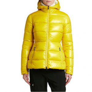 【Neiman Marcus】Moncler Rhin Semi-Fit 连帽羽绒服