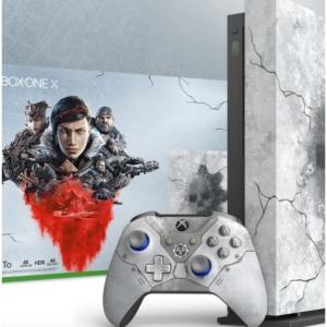 Microsoft - Xbox One X 同捆套裝,星戰/戰爭機器5/NBA 2K20 都參與 ,現價$349