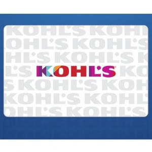 Kohl's 电子礼卡超值促销 @ Groupon