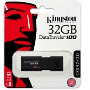 33% off Kingston 32GB 100 G3 USB 3.0 DataTraveler (DT100G3/32GB) @Amazon