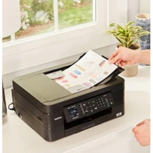 $36.99 off Brother MFC-J497DW Wireless Color Inkjet All-In-One Printer @Office Depot