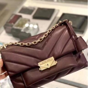 MICHAEL Michael Kors Cece Chevron-Quilted Leather Crossbody @ Macy's