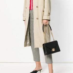 MICHAEL Michael Kors Whitney Polished Leather Shoulder Bag @ Macy's