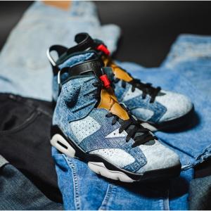 """新品發售!NIKE Air Jordan 6 """"Washed Denim""""全新配色"""