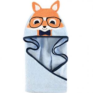 Hudson Baby Unisex Baby Animal Face Hooded Towel @ Amazon